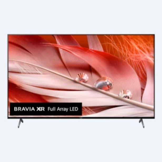 Oferta de X90J | BRAVIA XR | Full Array LED | 4K Ultra HD | Alto rango dinámico (HDR) | Smart TV (Google TV) por 1599€