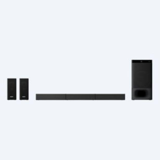 Oferta de Barra de sonido para Teatro en Casa de 5.1 canales con tecnología Bluetooth®   HT-S500RF por 480€