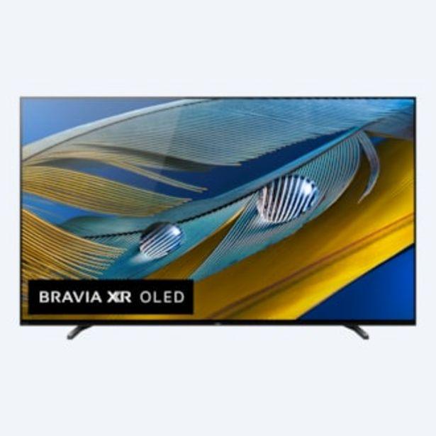 Oferta de A80J | BRAVIA XR | OLED | 4K Ultra HD | Alto Rango Dinámico (HDR) | Smart TV (Google TV) por 3299,01€