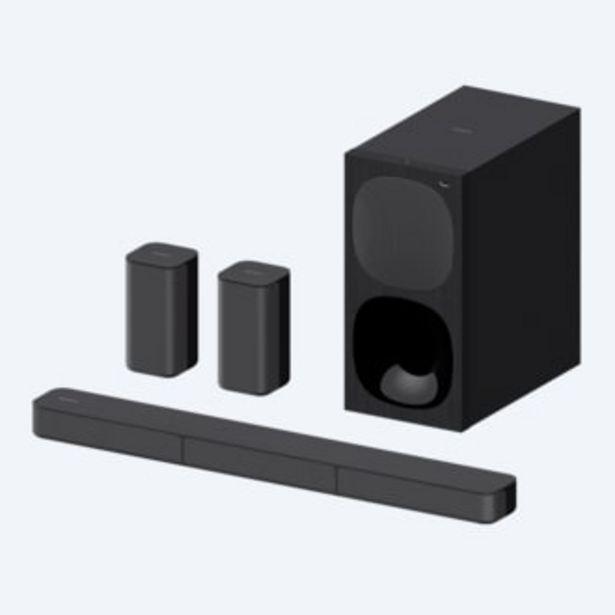 Oferta de Sistema de teatro en casa de 5.1canales con barra de sonido | HT-S20R por 256€