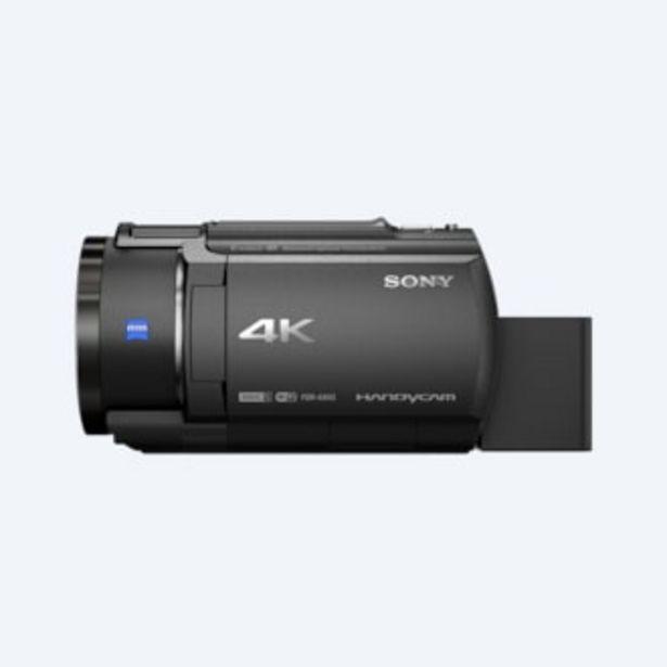 Oferta de Handycam® 4K AX43 con sensor CMOS Exmor R™ por 1099€