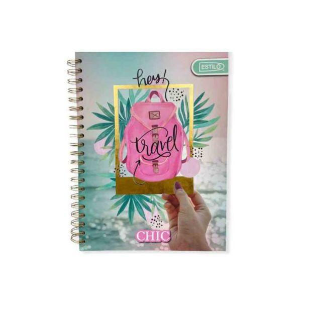 Oferta de  Cuaderno Espiral Estilo Chic Universitario Pasta Dura 1l ... por 4,91€