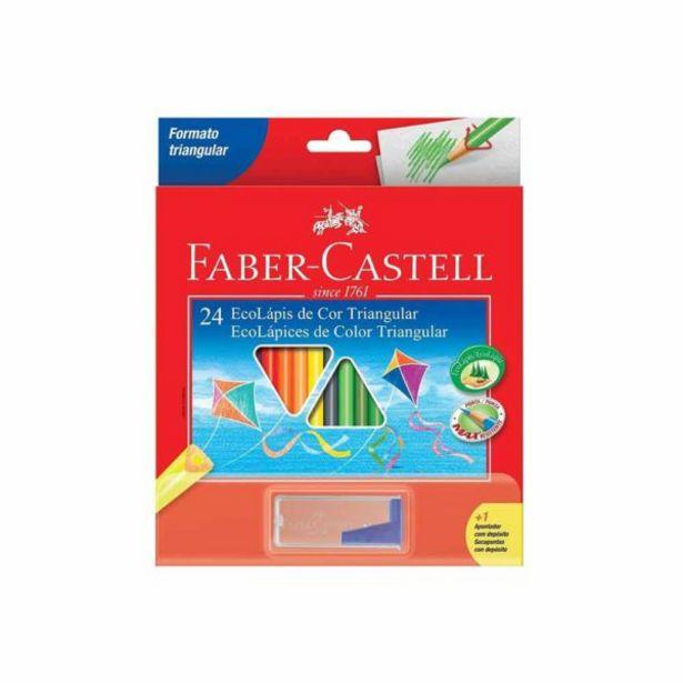 Oferta de  Lápices De Color Faber-B Triangular Cja.24 Und. /01 Lápiz Gr... por 6,1€
