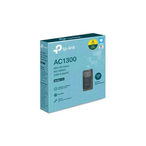 Oferta de  Adaptador Usb Mini Wireless Ac1300 – Tplink por 28,5€