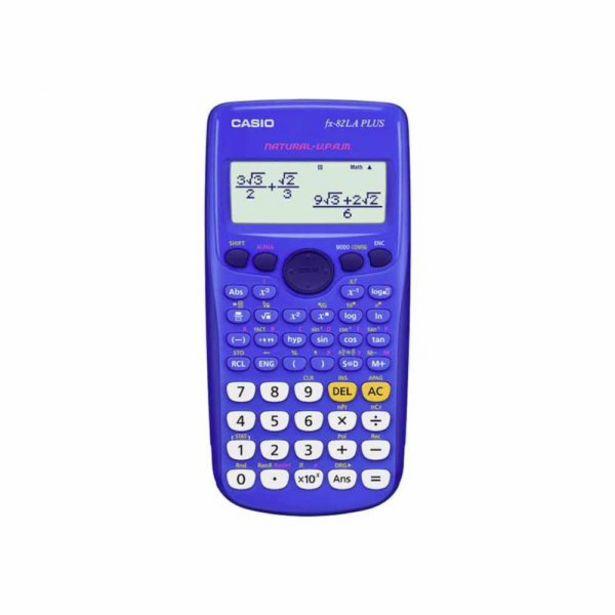 Oferta de  Calculadora Casio Científica Fx-82la Plus-Bu Azul por 17€