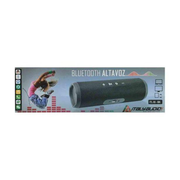 Oferta de  Parlante Portable Negro – Italy Audio por 25,8€