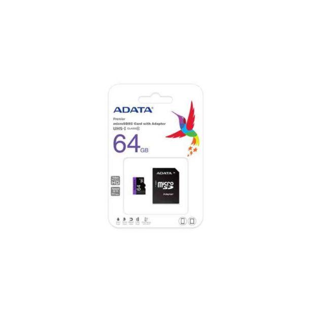 Oferta de  Tarjeta De Memoria – 64 Gb – Adata por 10,95€