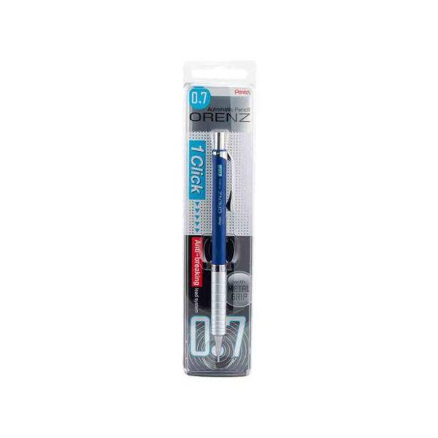Oferta de  Portamina Pentel Orenz Azul Mina 0.7mm por 13,1€