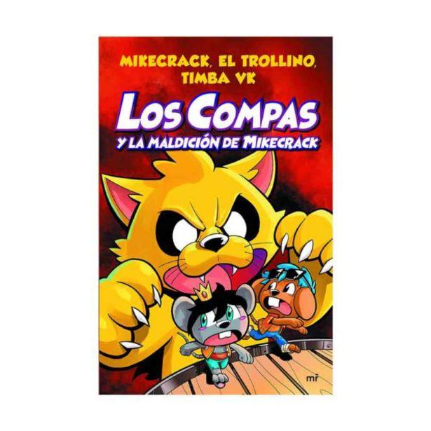 Oferta de  Libro Los Compas Y La Maldición De Mikecrack – El Trol... por 13,25€