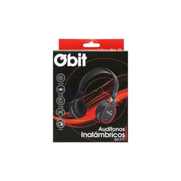 Oferta de  Audífonos Inalámbricos – Qbit por 21,9€