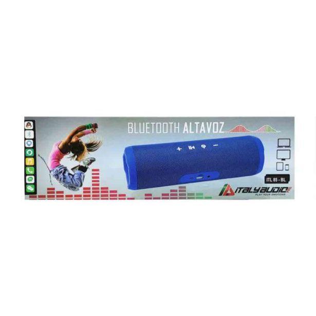 Oferta de  Parlante Portable Azul – Italy Audio por 25,8€