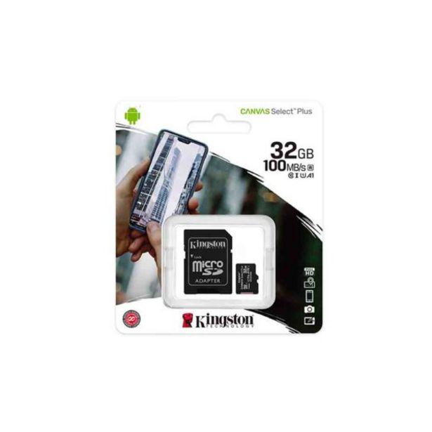 Oferta de  Tarjeta De Memoria – 32 Gb – Kingston por 10,6€