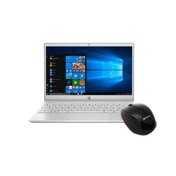Oferta de  Combo Laptop Hp Pavilion 13″ An0007la + Mouse Verbatim por 998,3€