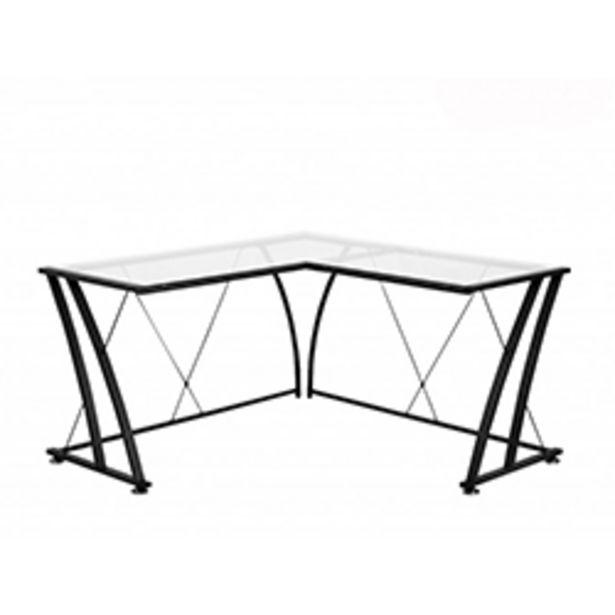 Oferta de Escritorio de Vidrio con Estructura Metalica por 149,99€