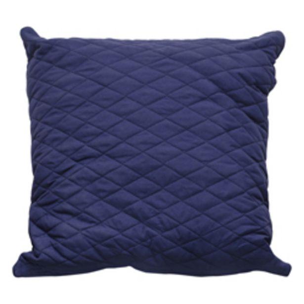 Oferta de Cojín Decorativo Rombos Azul por 11,95€