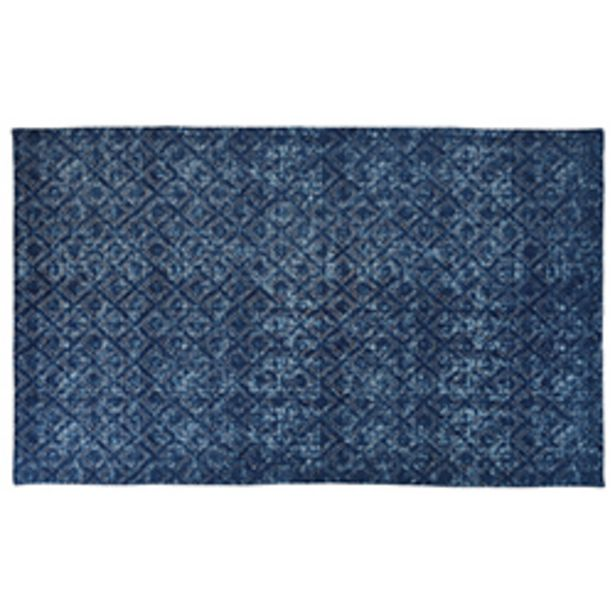 Oferta de Alfombra Cubic Azul 120x180cm por 46,66€