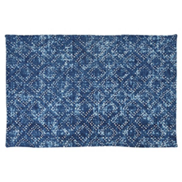 Oferta de Alfombra Cubic Azul 60x90cm por 11,66€