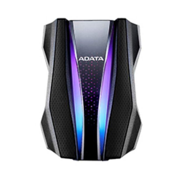Oferta de Disco Duro Ext 2.5 Adata 1Tb 3.2 Ah770G Anti-Golpe Negro Rgb por 83,05€