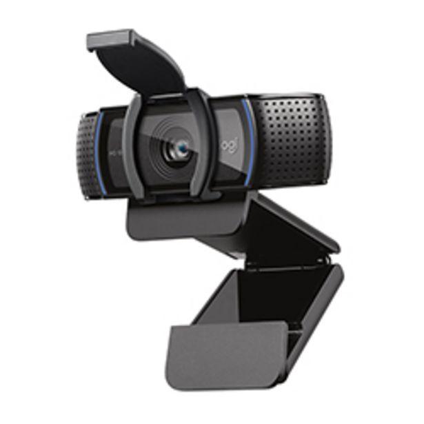 Oferta de Cámara Web C920S Video Hd 1080P, 15Mp Fotografía Logitech  por 101,57€