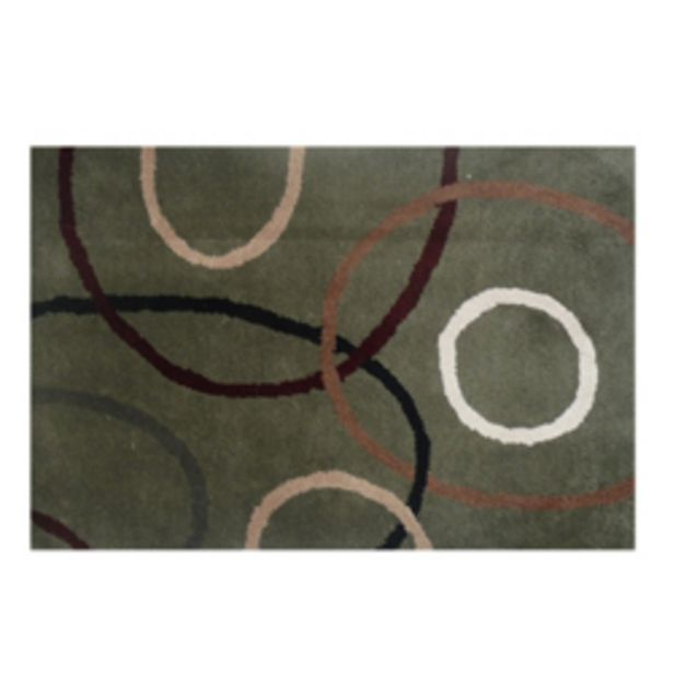 Oferta de Alfombra lana Park oscuro por 61,72€