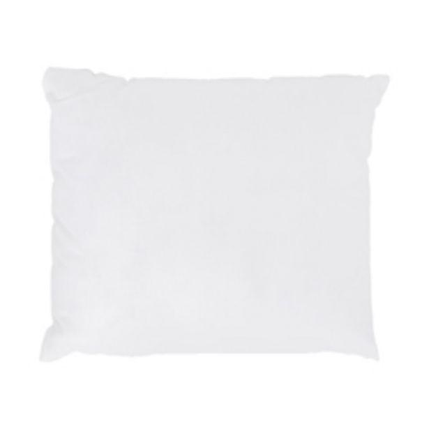 Oferta de Almohada  Plumón Algodón Blanca 45x45cm por 4,79€