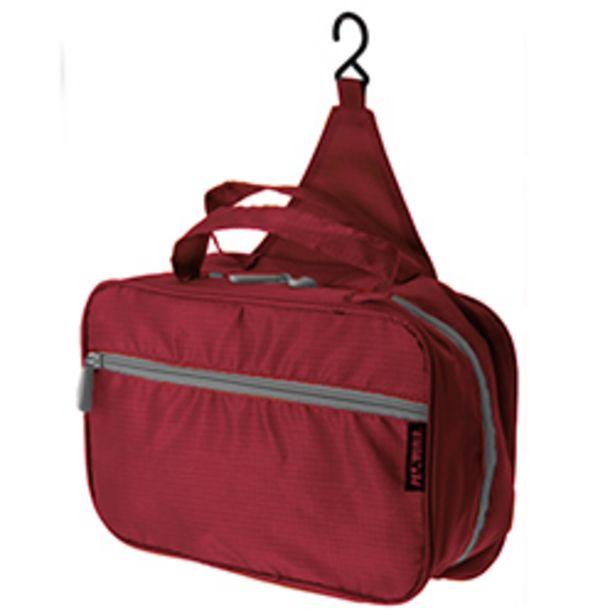 Oferta de Neceser Rojo con Gancho para Viaje   por 11,8€