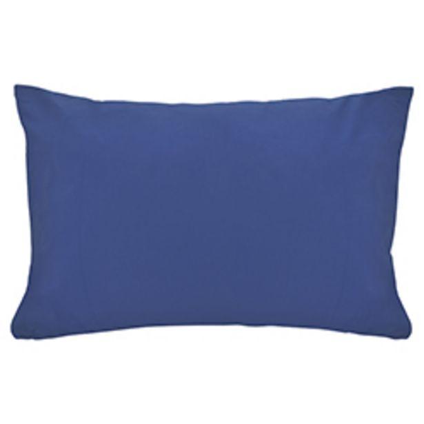 Oferta de Funda de Almohada Cotton Touch Azul Chateau por 2,32€