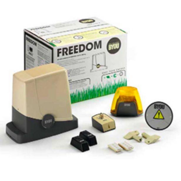 Oferta de Abrepuertas Freedom 4 para Puertas Corredizas 400kg 220v/24v Byou por 449,8€