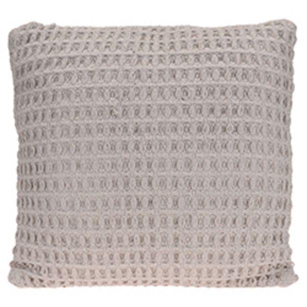 Oferta de Cojín Weave Algodón Beige 45x45cm por 26,8€