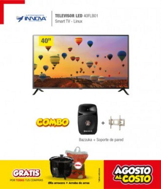 Oferta de COMBO INNOVA LED 40FLB01 LINUX+CAJA+PARLANTE+SOP por 588,78€