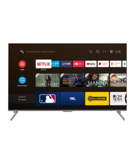 Oferta de LED INDURAMA 65TISG3AUHD SMART TV ANDROID 10.0 por 1123,18€