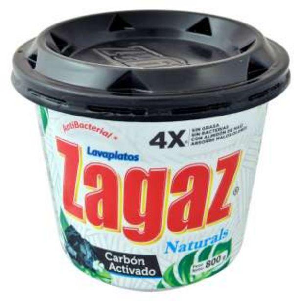Oferta de Zagaz Lavaplatos Carbon Activado Con 800 g por 2,82€