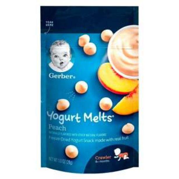 Oferta de Gerber® Yogurt Melts Durazno 28 g por 2,63€