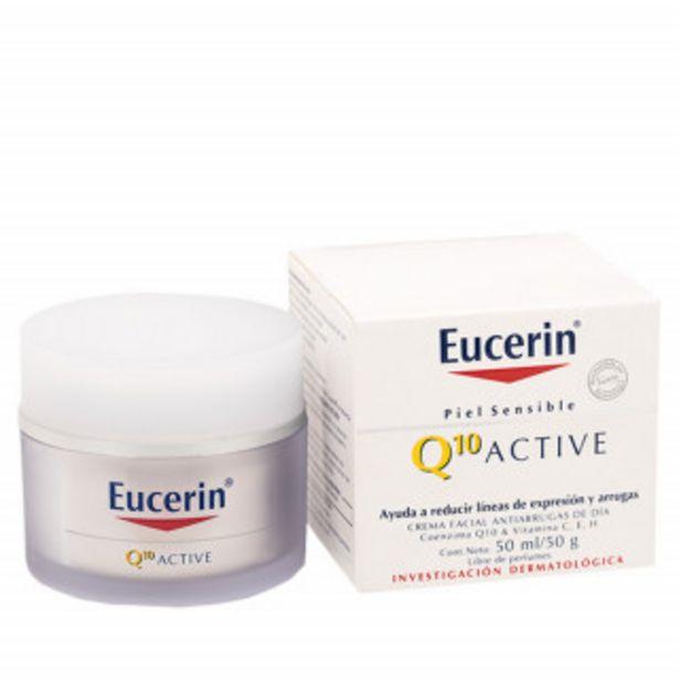 Oferta de Eucerin Q10 Crema Facial Dia Antiedad Con 50 g por 20,05€
