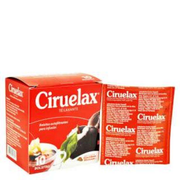 Oferta de Ciruelax Polvo Te Laxante Sobre Con 10 Unidades por 3,59€