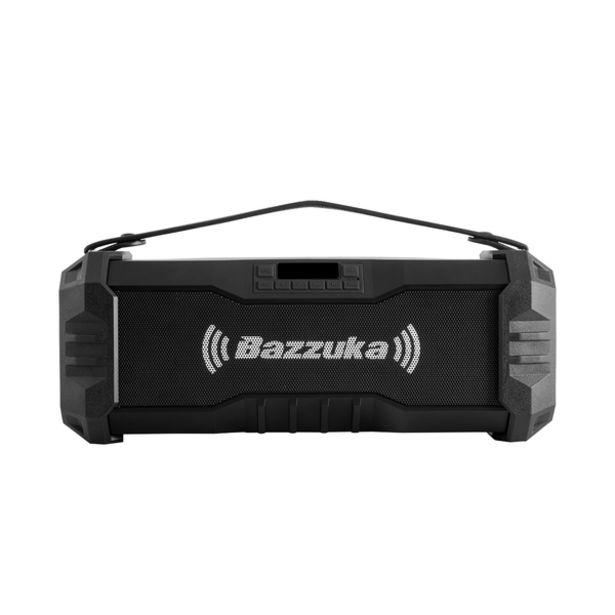 Oferta de Radio Portable Bazzuka Negro 10 Watts RMS por 69€