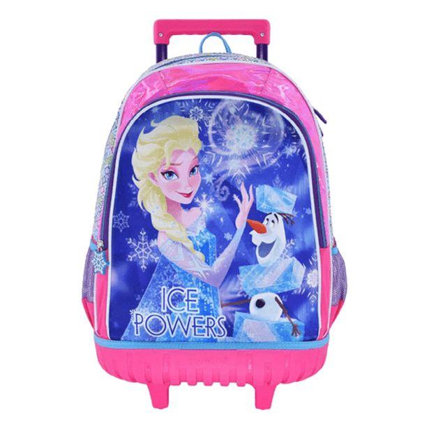Oferta de Mochila con Ruedas Kids Frozen Fucsia por 45,99€