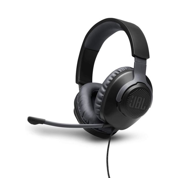 Oferta de Audífonos Gaming JBL Negro por 51,99€