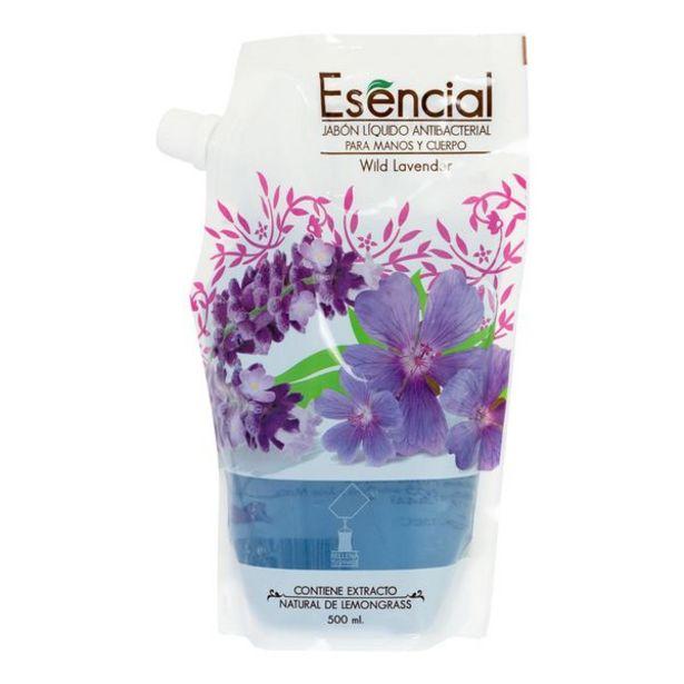 Oferta de Jabón Líquido Esencial para Manos y Cuerpo Wild Lavender por 3,9€