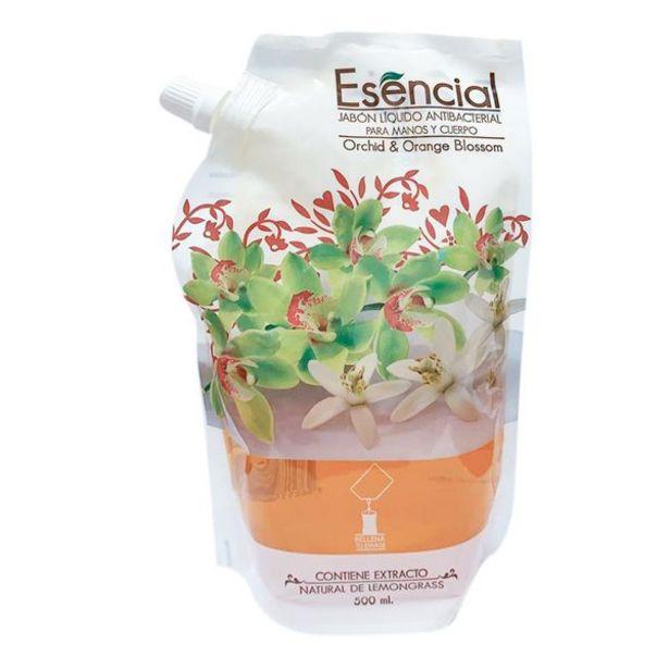 Oferta de Jabón Líquido Esencial para Manos y Cuerpo Orchid & Orange Blossom por 3,9€