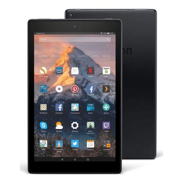Oferta de Tablet Amazon Fire HD10 Negro por 229,94€