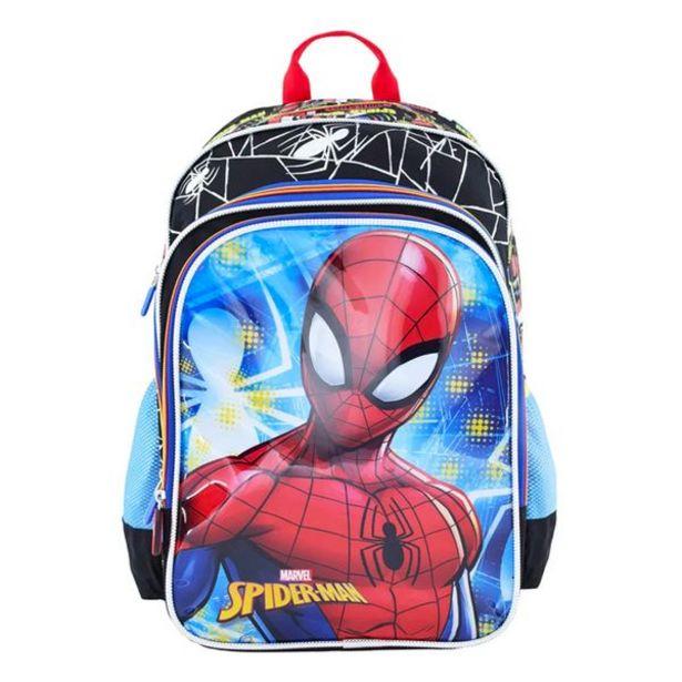 Oferta de Mochila kids Escolar Ultimate Spiderman Negro por 43,99€