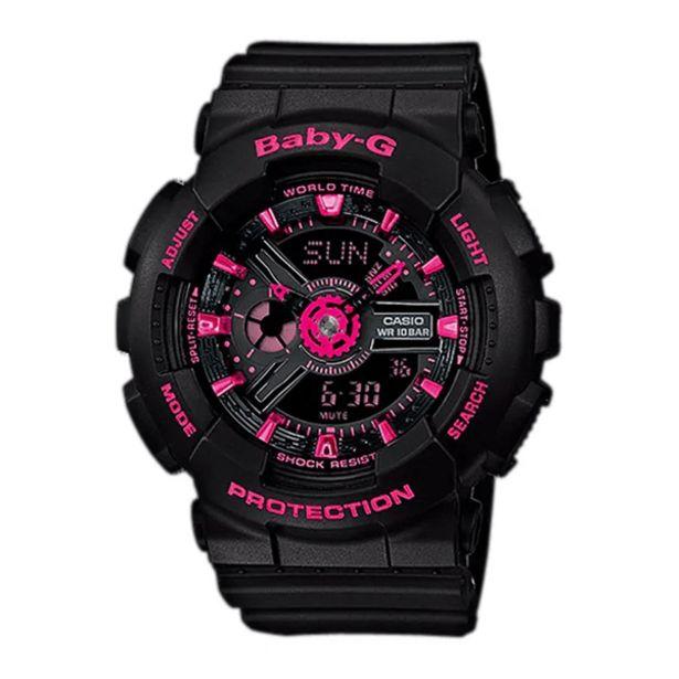 Oferta de Reloj Análogo Casio Negro BA-111-1A por 253,01€
