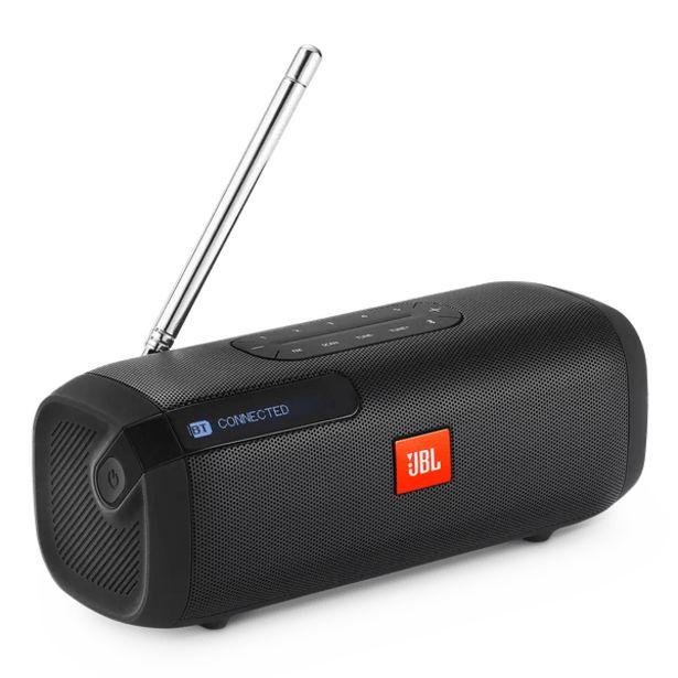 Oferta de Radio Portátil JBL Tuner FM Negro por 89€