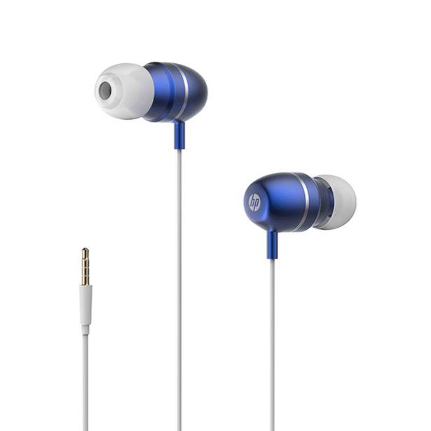 Oferta de Audífonos con Micrófono HP HP-3112BL por 12,99€