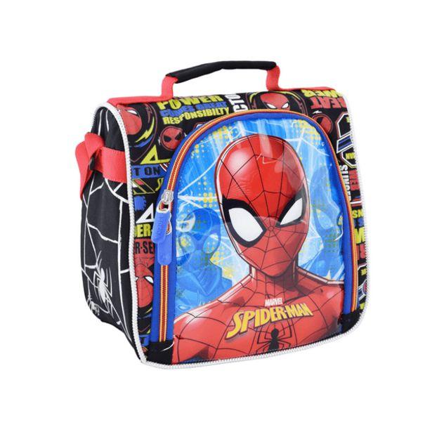 Oferta de Lonchera Medium Kids Ultimate Spiderman Negro por 22,99€