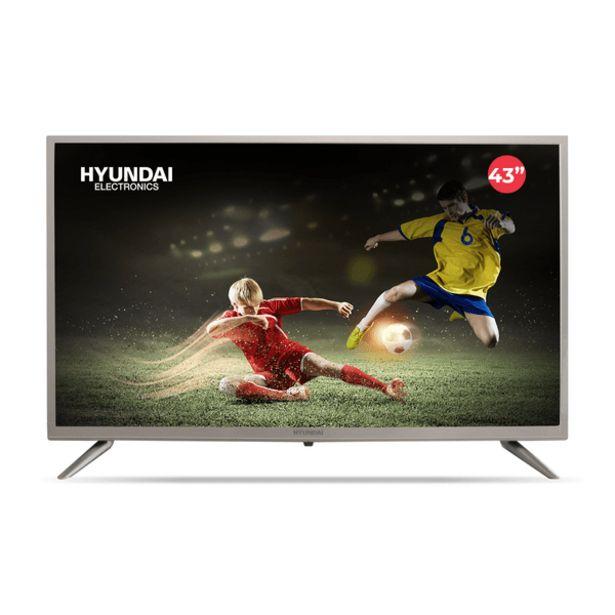 """Oferta de Televisor Hyundai LED Smart TV 43"""" por 488,99€"""