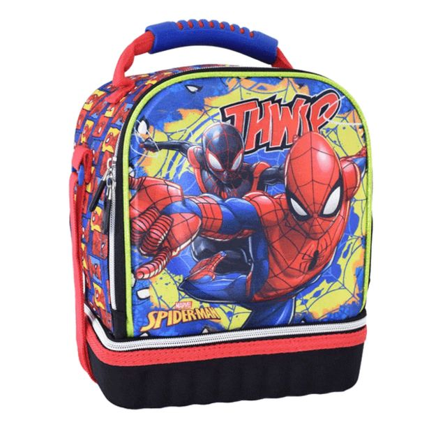 Oferta de Lonchera Kids Spiderman Azul por 16,99€