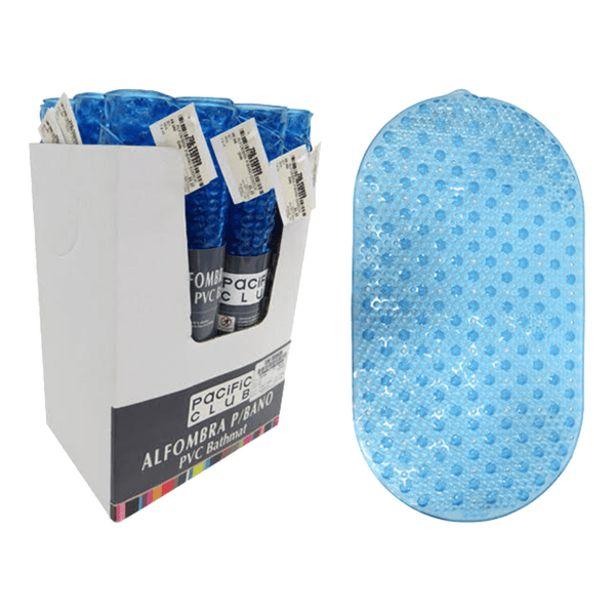 Oferta de Alfombra Antideslizante Azul 63 x 39 cm por 2,7€
