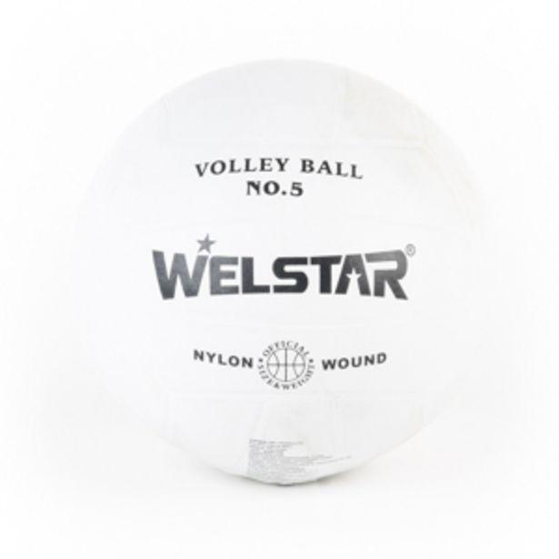 Oferta de PELOTA VOLLEYBALL BLANCA #5 por 5,66€